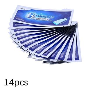 3d Advanced Ultra White Rotina Branqueamento 14 Pares Tiras