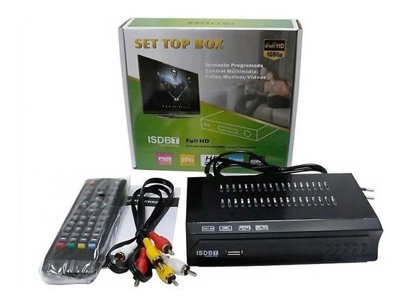 Conversor E Receptor De Tv Digital Set Top Box Com Garantia!