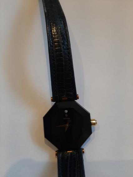 Relógio H Stern Safira Sapphire Azul Com Brilhante Original