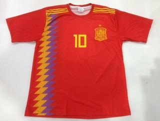 Camisa Futebol Mania Seleções Espanha R