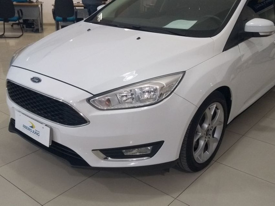 Ford Focus 2.0 Se Plus 2016 Branca Flex