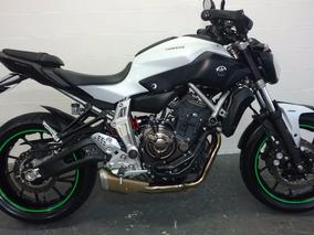 Yamaha Mt 07 Abs 2016 Baixo Km Aceito Moto