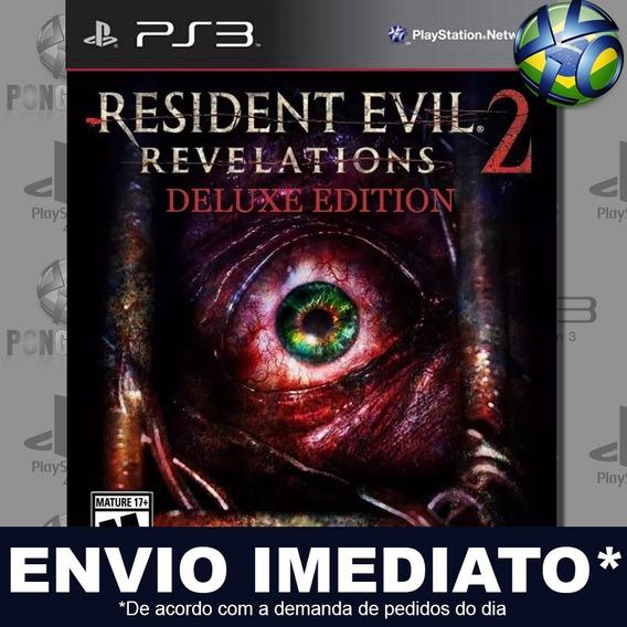 Resident Evil Revelations 2 Deluxe Ps3 Psn Jogo Em Promoção