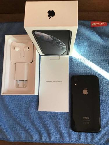 iPhone XR 128gb Preto, Tela Retina 6,1 + Câmera 12mp