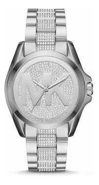 Relógio Michael Kors Mk6486 Prata Cravejado