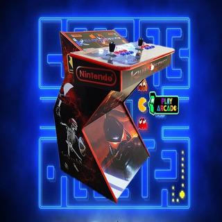Arcade Pedestal Multijuegos Hyperspin Con Wurlitzer