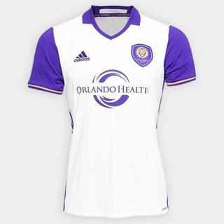 Camisa Orlando City adidas Home Branca 2016