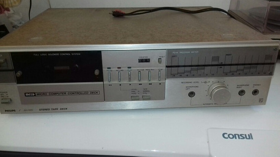 Tape Deck Philips Aw 620