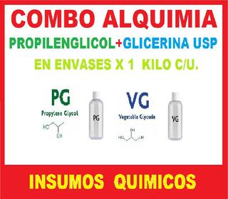 Propilenglicol + Glicerina Grado Usp X 1 Kilo C/u.