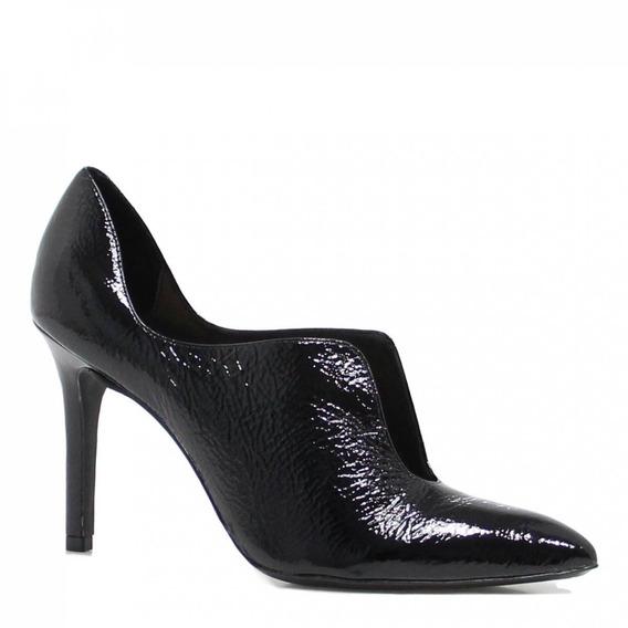 Sapato Feminino Zariff Shoes Scarpin Salto Alto Preto 140069
