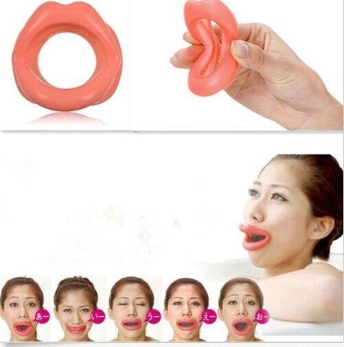 Bigode Chinês Exercício Flacidez Rugas Facial Super Lábio