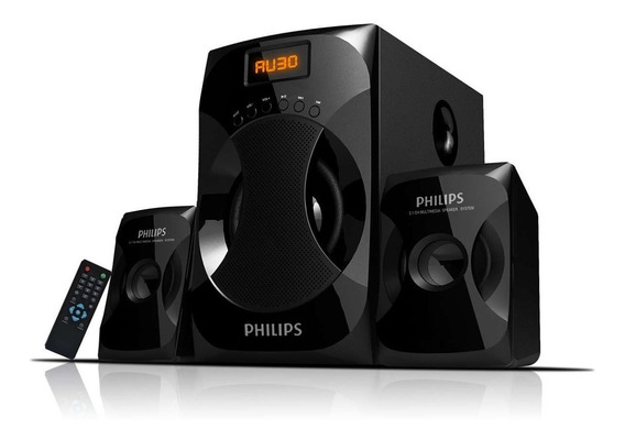 Parlante Philips Multimedia 2.1 Mms4040f/77