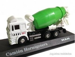 Camion Hormigonera Man - Escala 1:72 - Nuevo En Caja