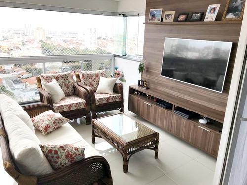 Imagem 1 de 14 de Apartamento Conect Life 163m² 3 Suites 4 Vagas Depósito