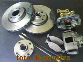 Kit Freio A Disco Traseiro Para Triciclo Com Disco De 256mm