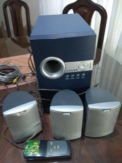 Home Theater Completo, Buffer Con 5 Parlantes