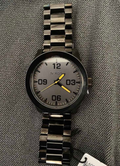 Relógio Novo Original Nixon Corporal Ss, R$1.343 Por R$899