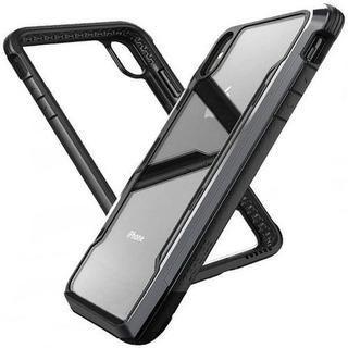 Capa Case Capinha Para iPhone Xr Xs Anti Shock Armadura Impacto Queda Choque Metal
