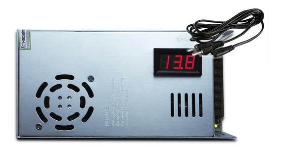 Fonte Chaveada 12v 30 Amperes Cftv Px Carregdor P/ Baterias