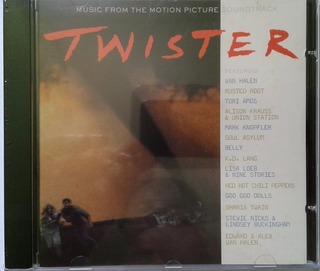 Cd Twister - Trilha Sonora Filme 1996 (importado Alemão )
