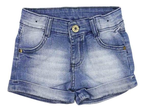 Kit 9 Shorts Meninas Jeans Juvenil Feminina Lycra Tm 2 A 16