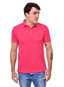 (cod. 124) - Camisa Polo Tommy Hilfiger Cor Pink