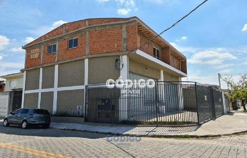 Imagem 1 de 14 de Galpão Para Alugar, 200 M² Por R$ 5.900,00 - Ponte Grande - Guarulhos/sp - Ga0156