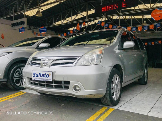 Nissan Grand Livina Flex Automatica + Couro 7 Lugares