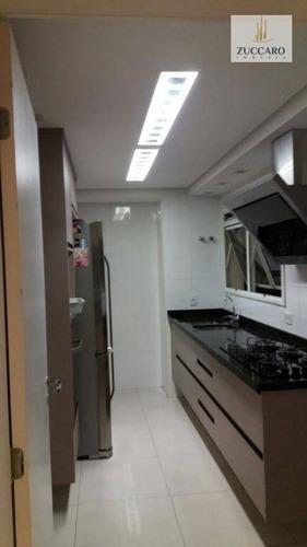 Apartamento No Condomínio Solon Fernandes, 137m², 3 Dormitórios, 1 Suíte, 2 Vagas, Estuda Permuta. - Ap10417