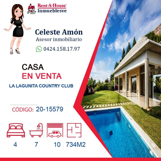 Casa En Venta La Lagunita 0424.158.17.97 Ca Mls # 20-15579