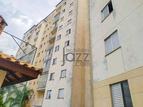 Apartamento Com 2 Dormitórios À Venda, 62 M²  - Parque Brasília - Campinas/sp - Ap5650