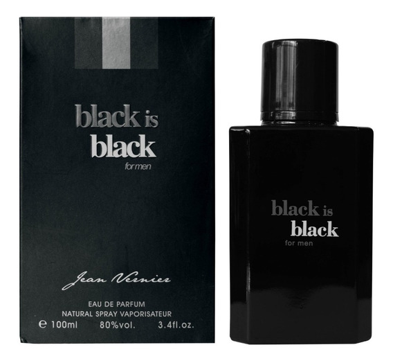 Perfume Black Is Black 100ml Jean Vernier