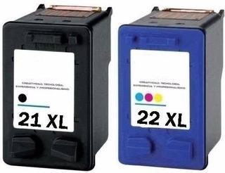 Cartucho De Tinta Combo 21xl Negro Y 22xl Color Alternativo