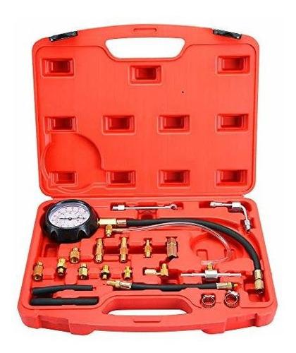 Dasbet 0140psi Kit De Medidor De Presion De Inyector De Comb