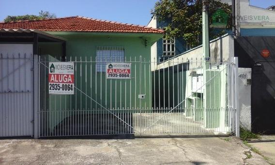 Casa Residencial Para Locação, Jardim Colombo, São Paulo. - Ca0149
