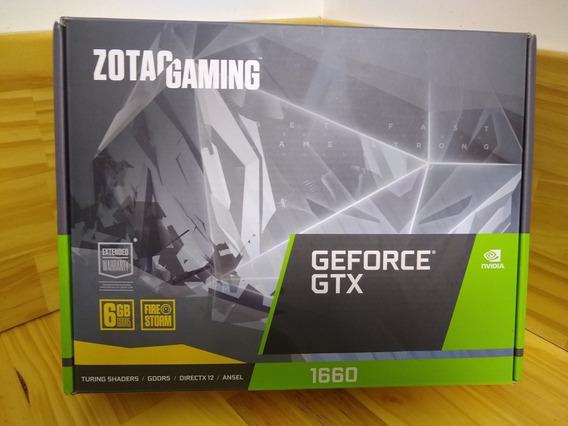 Zotac Gaming 1660 6gb Ddr5