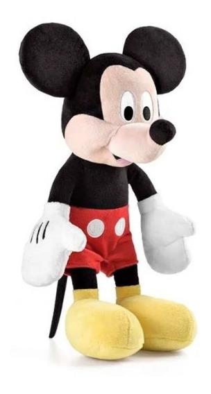 Pelúcia Mickey 33cm Com Som Alimentação Por 3 Pilhas Lr44