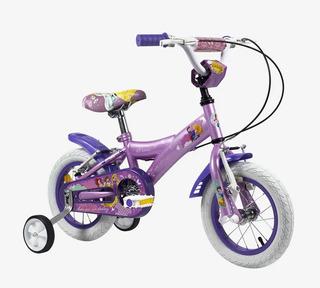 Bicicleta Rodado 12 Princesas Cuotas