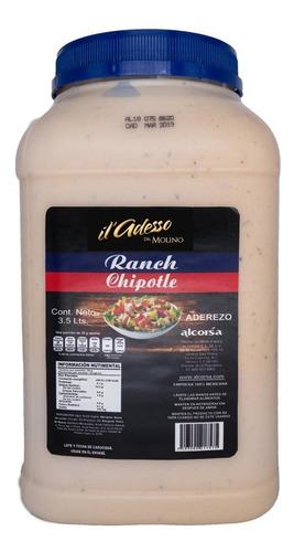 Aderezo Ranch Chipotle  3.7l Galon Il' Adesso Pizza