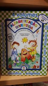 Coleção Alfabetização Divertida 6 E 7 Anos 04 Volumes Fapi