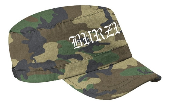 Burzum Logo (camo) Gorra Militar Merch Official Import