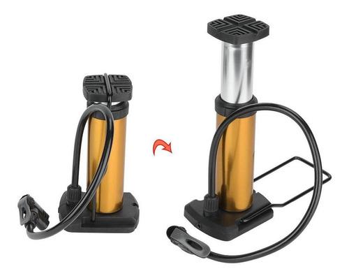 Bomba de pie port/átil para Actividades de Pesca y Camping al Aire Libre Vbest life Bomba de pie de Fuelle de pl/ástico