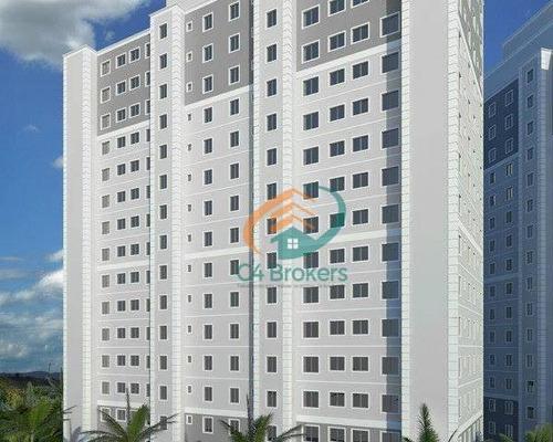 Apartamento À Venda, 47 M² Por R$ 219.900,00 - Gopoúva - Guarulhos/sp - Ap1198