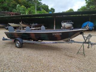 Barco De Alumínio Completo