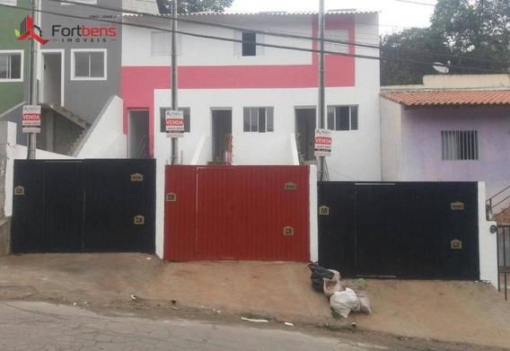 Sobrado Com 2 Dormitórios À Venda, 57 M² Por R$ 178.000 - Jardim Alegria - Francisco Morato/sp - So0723