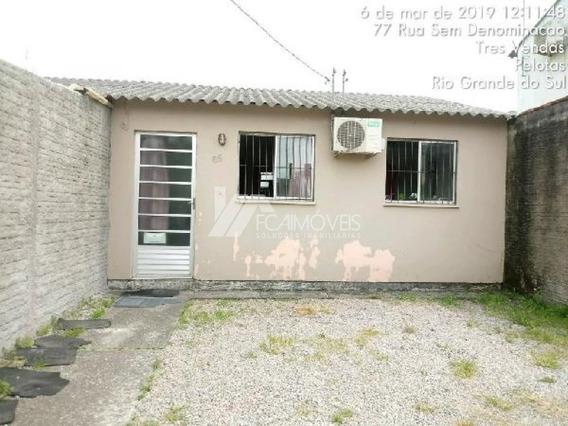 Rua 3 Nº 165 - Do Loteamento Quinze De Julho Quadra 04 - Lote 04, Tres Vendas, Pelotas - 263757