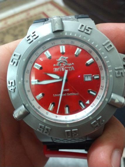 Relógio Invica Original Subaqua Noma Iii Avaliado Em 4mil
