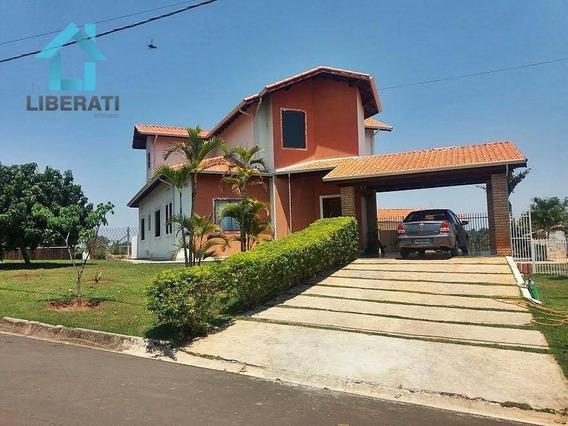 Chácara Em Boituva - Condomínio Fechado - Linda - Ch0085