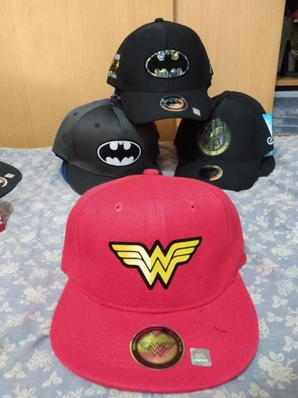 Gorra Superheroes Plana O Curva Batman Superman Avengers