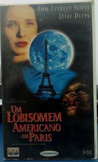 Filme Terror- Fita Vhs- Um Lobisomem Americano Em Paris